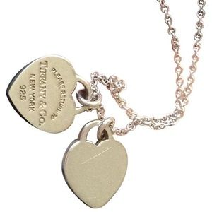 Pre-Loved Tiffany & Co. Double Heart Necklace